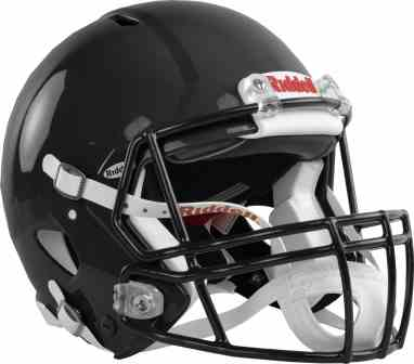 RIDDELL YOUTH REVOLUTION SPEED FOOTBALL HELMET REPLACEMENT BLK CHINSTRAP