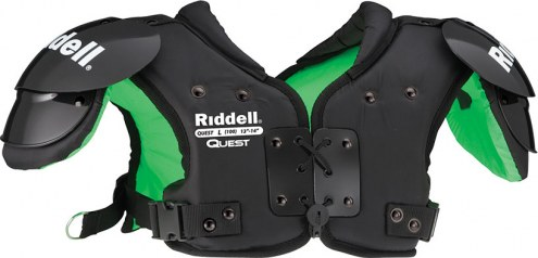 Riddell Quest Youth Football Shoulder Pads