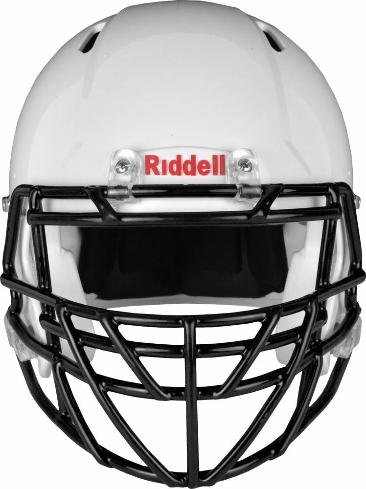 Intimidating football facemasks