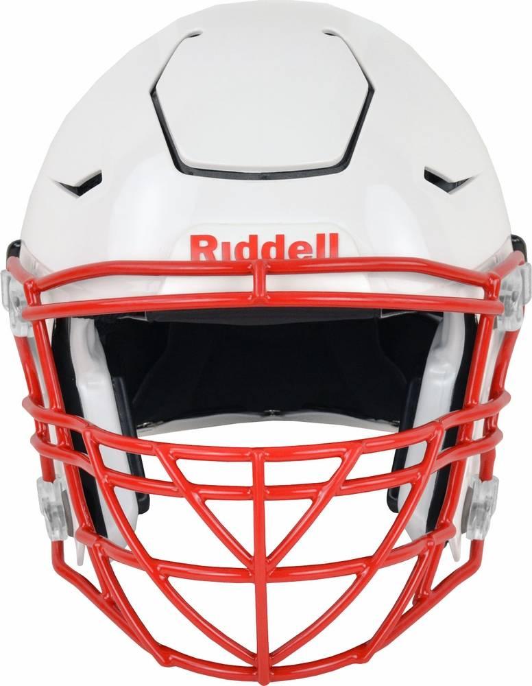 Intimidating football face masks