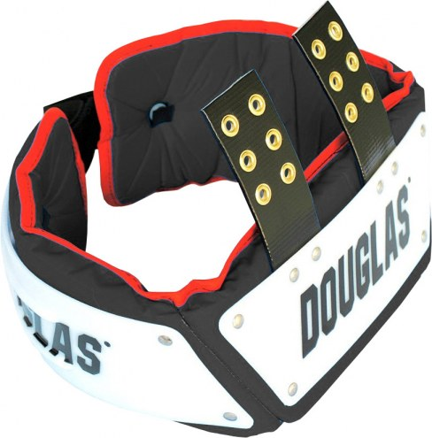 Douglas Custom Pro Football Adjustable Rib Protector Combo - 4 inch