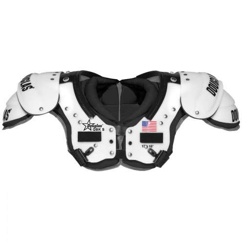 Douglas CP Series PCQK Adult Football Shoulder Pads - QB / WR / K