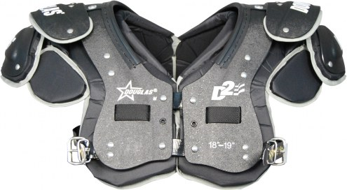 Douglas Destroyer 2.0 Q22 Adult Skill Football Shoulder Pads - QB / WR / RB / DB