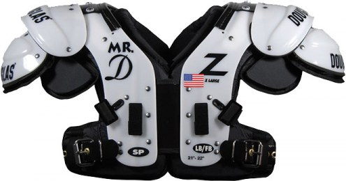 Douglas SP Adult Football Shoulder Pads - LB / FB