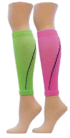 Red Lion Adult Neon Solid Compression Leg Sleeve