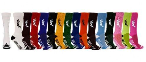 Red Lion Lacrosse Solid Adult Socks - Sock Size 9-13