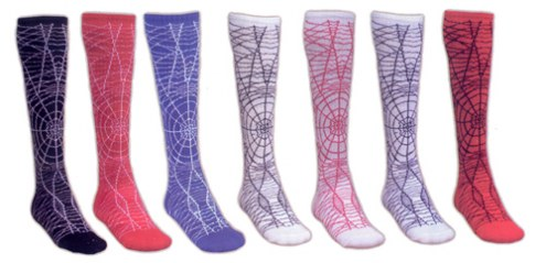 Red Lion Spider Adult Socks - Sock Size 9-11