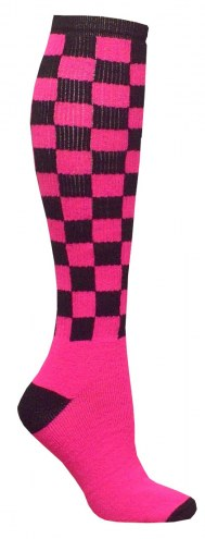 Red Lion Checkerboard Adult Socks - Size 9-11