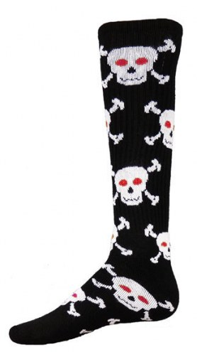 Red Lion Skull Adult Socks - Sock Size 9-11