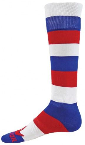 Red Lion Banner Over the Calf Socks