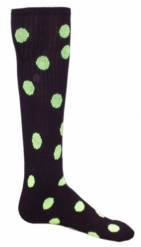 Red Lion Dots Socks