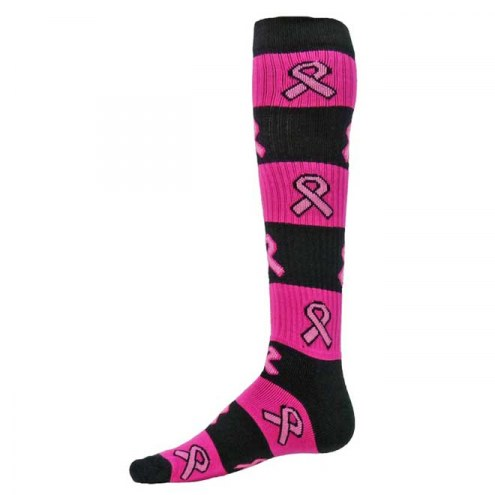 Red Lion Rugby Pink Ribbon Over the Calf Socks
