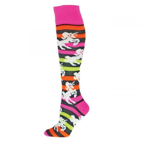 Red Lion Unicorn Knee High Socks