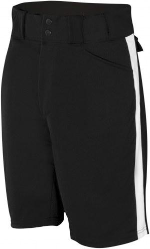 Adams Football Officials Shorts - Black / White Stripe