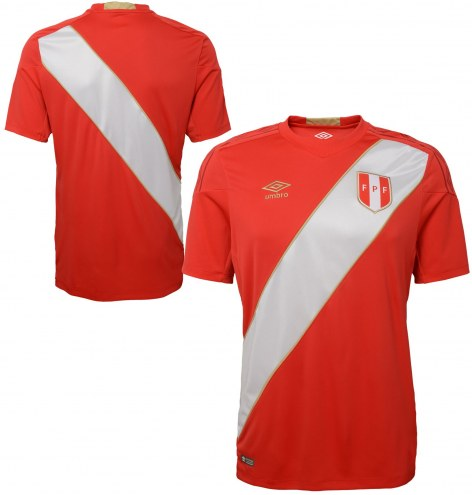 Umbro Peru 2018 World Cup Away Soccer Jersey