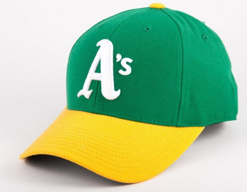outlet store add07 03608 ... shopping oakland athletics 1976 fitted baseball hat 3343d 2c43a