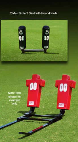 Fisher 2 Man Brute Youth Football Sled