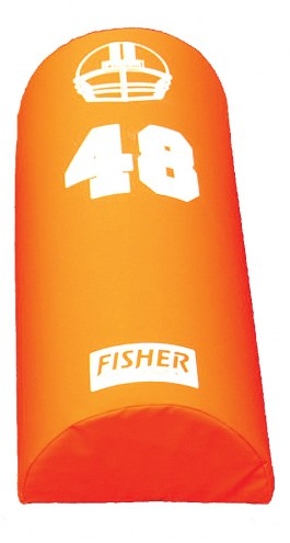"Fisher Athletic 48"" x 16"" x 8"" Football Agility Dummy"