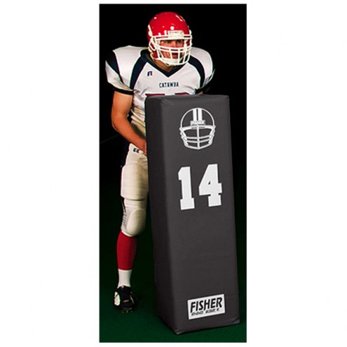 "Fisher Dual Purpose 50"" x 14"" Square Football Blocking Dummy"