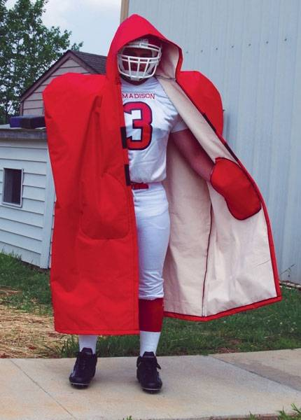on sale f1d06 4fa04 Fisher Adult Lined Sideline Cape
