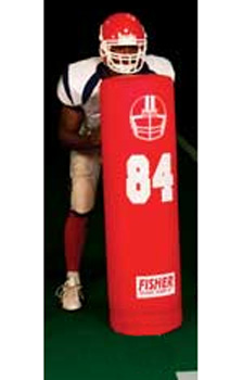 """Fisher 48"""" x 14"""" Stand Up Football Dummy"""