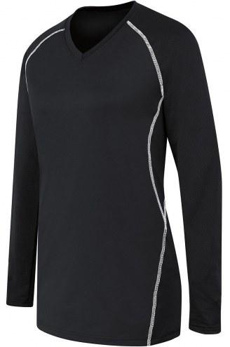 High Five Women's/Girls' Long Sleeve Solid Custom Volleyball Jersey