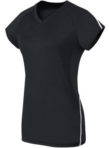 High Five Women's/Girls' Short Sleeve Solid Custom Volleyball Jersey