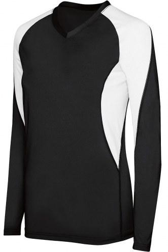High Five Women's/Girls' Long Sleeve Court Custom Volleyball Jersey