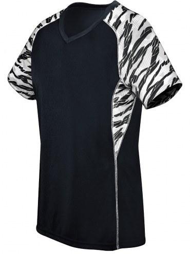 High Five Women's/Girls' Printed Evolution Short Sleeve Custom Volleyball Jersey