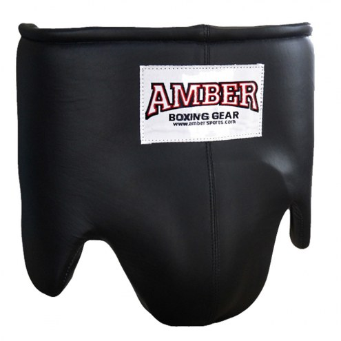 Amber Leather Professional Boxing Ab-Guard