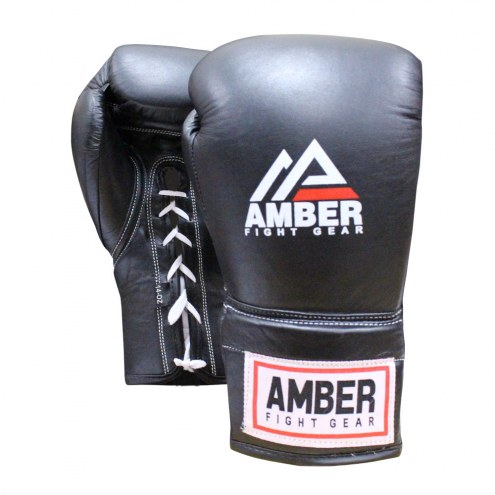 Amber Professional Laceup Training Boxing Gloves