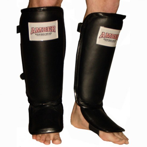 Amber Leather Shin and Instep Protector