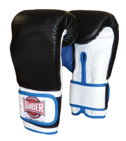 Amber Gel Hook & Loop Training Gloves