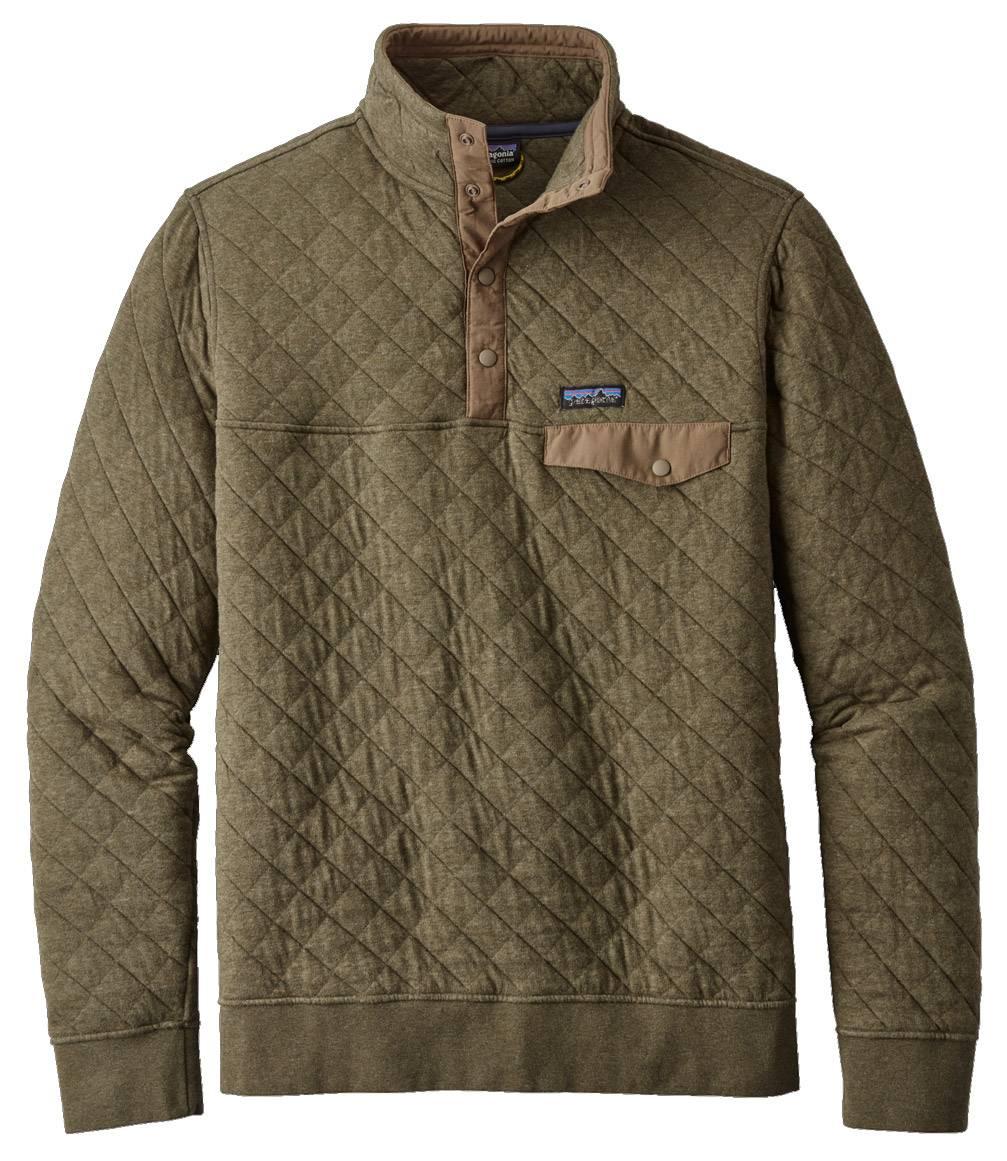 Patagonia Organic Cotton Quilt Snap T Men S Custom Pullover