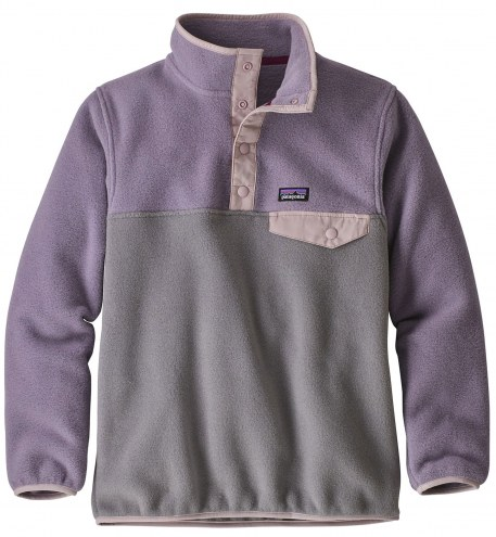 Patagonia Girls Lightweight Synchilla Snap-T Pullover