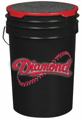 Diamond Sports 6 Gallon Ball Bucket with Lid