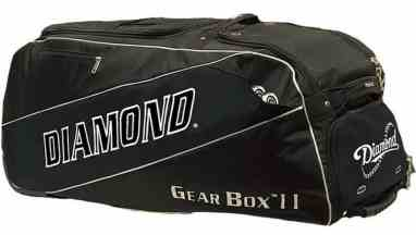 Diamond Gear Box Ii Wheeled Baseball Catchers Bag