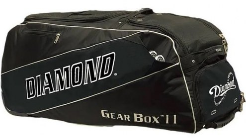 Diamond Gear Box II Wheeled Baseball Catchers Bag