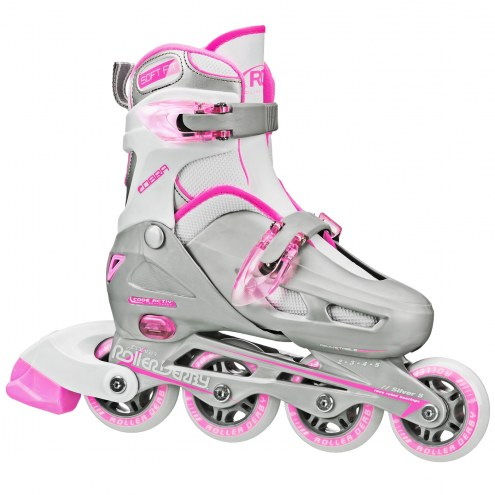 Roller Derby Cobra Girls' Adjustable Inline Skates