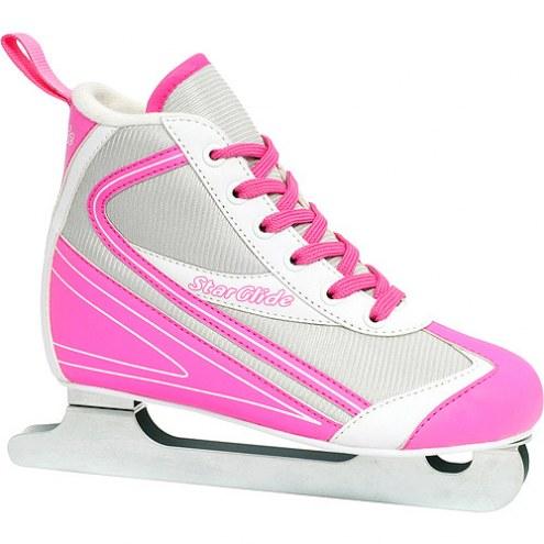 Roller Derby Lake Placid Starglide Girls Double Runner Figure Skate