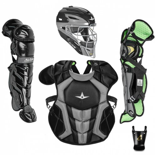 All Star System7 Axis NOCSAE Certified Youth Pro Catcher's Kit - Ages 9-12 - SCUFFED