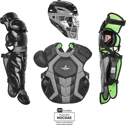 All Star System7 Axis CC NOCSAE Certified Adult Pro Baseball Catcher's Kit