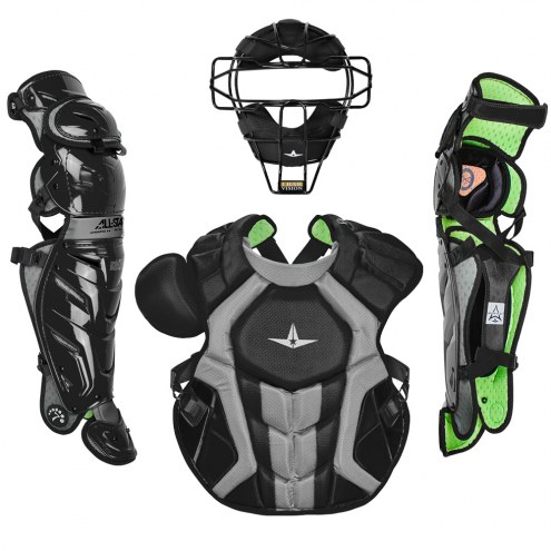 All Star System7 Axis Pro NOCSAE Certified Adult Baseball Catcher's Kit