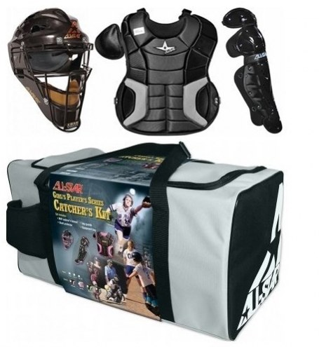 All Star Adult Fastpitch Series Complete Softball Youth Catcher's Gear Set
