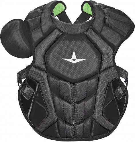 """All Star System7 Axis CC 16.5"""" NOCSAE Certified Baseball Catcher's Chest Protector"""