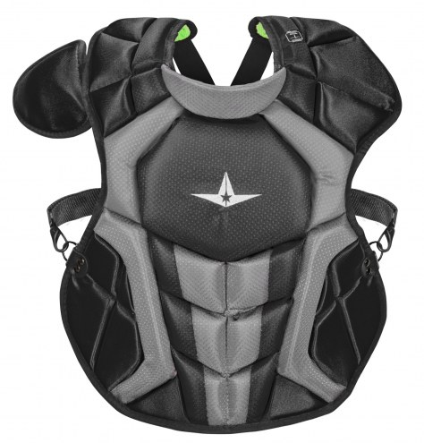 """All Star System7 Axis NOCSAE Certified 14.5"""" Youth Baseball Catcher's Chest Protector"""
