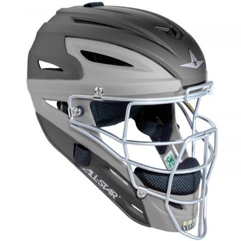 All Star Matte Two Tone MVP2500MTT Adult Baseball Catcher's Helmet