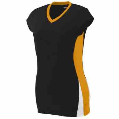 a0424631cde Augusta Ladies Hit Custom Volleyball Jersey