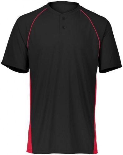 Augusta Limit Two Button Adult Custom Baseball Jersey