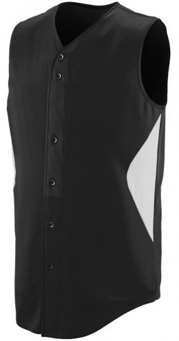 Augusta Wheel House Youth Full Button Front Vest